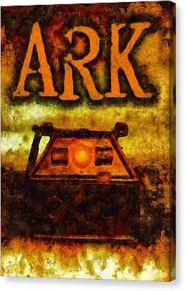 Ark Canvas Print by Esoterica Art Agency