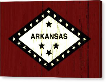 Arkansas 1w Canvas Print by Brian Reaves