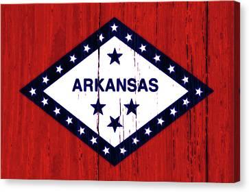 Arkansas 2w Canvas Print