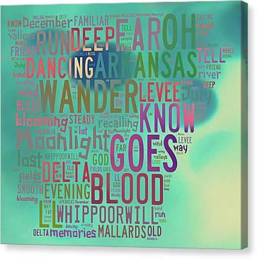 Arkansas - Mallards Sailing Canvas Print