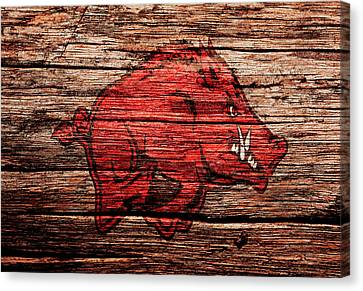 Arkansas Razorbacks 1a Canvas Print
