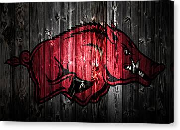 Arkansas Razorbacks 2a Canvas Print