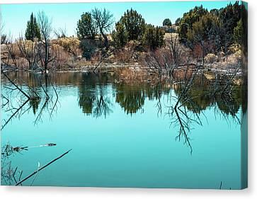 Arkansas River Backwater Canvas Print