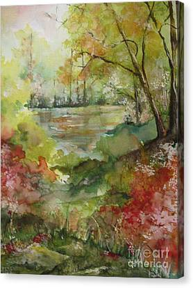 Arkansas Springtime Canvas Print by Robin Miller-Bookhout
