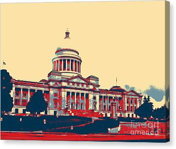 Arkansas State Capitol  Canvas Print