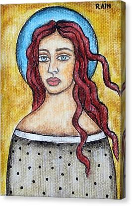Arlene Canvas Print by Rain Ririn