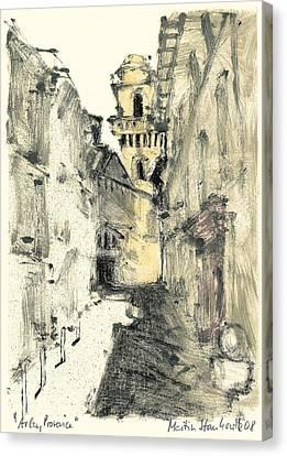 Arles Provence Canvas Print