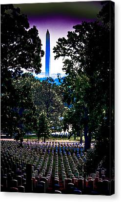 Arlington Canvas Print by David Hahn