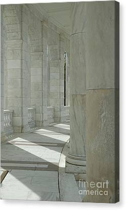 Arlington Memorial Amphitheater Hall Canvas Print