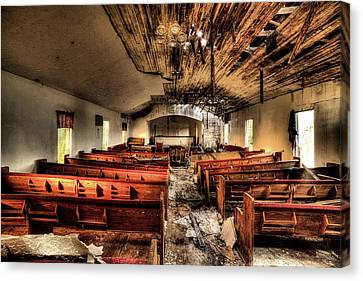 Canvas Print featuring the photograph Armageddon by JC Findley