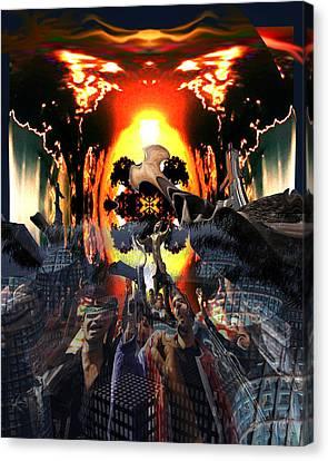 Armageddon Canvas Print by Mason BenYair