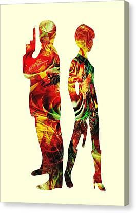 Armed Canvas Print by Anastasiya Malakhova