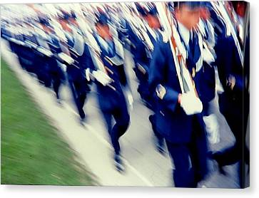 Armed Forces Of Colombia 14 Canvas Print by Daniel Gomez