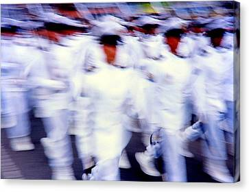 Armed Forces Of Colombia 5  Canvas Print by Daniel Gomez