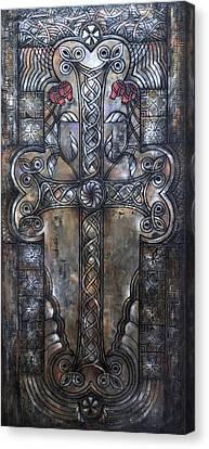 Armenian Cross Stone Canvas Print