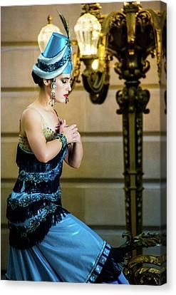 Armenian Dancer Canvas Print