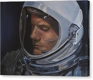 Armstrong- Gemini Viii Canvas Print by Simon Kregar