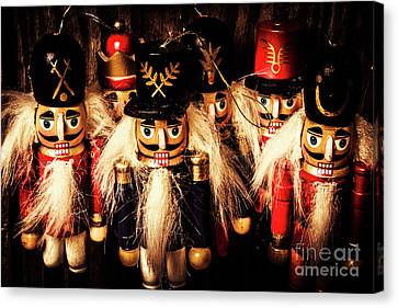 Doll Canvas Print - Army Of Wooden Solders by Jorgo Photography - Wall Art Gallery