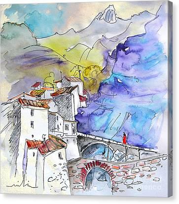 Arnedillo In La Rioja Spain 02 Canvas Print by Miki De Goodaboom