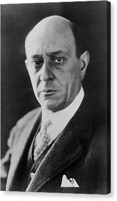 Arnold Schoenberg 1874-1951, Austrian Canvas Print by Everett