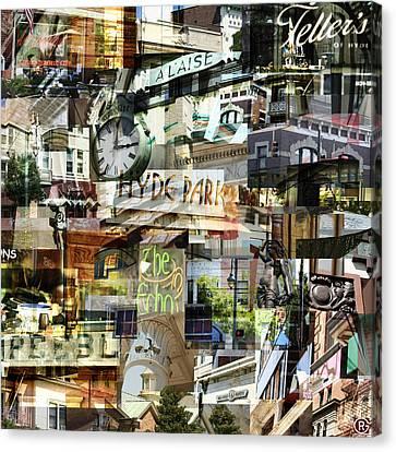 Around Hyde Park 2 Canvas Print