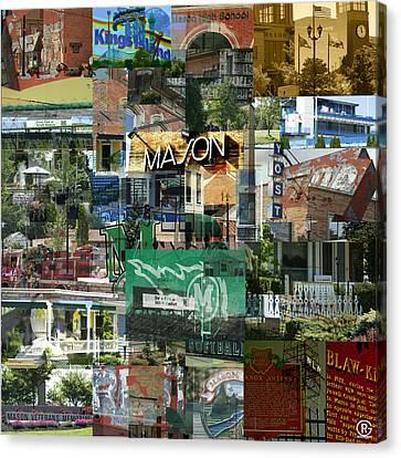 Around Mason 3 Canvas Print