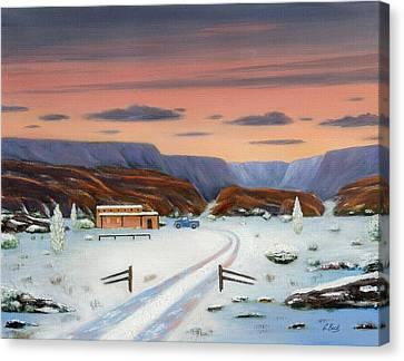 Around Sundown Canvas Print by Gordon Beck