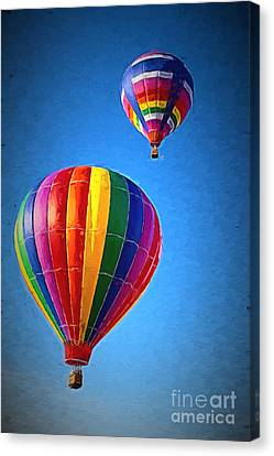 Around The World Canvas Print by A New Focus Photography