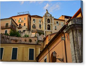 Canvas Print featuring the photograph Arpino Colors by Dany Lison