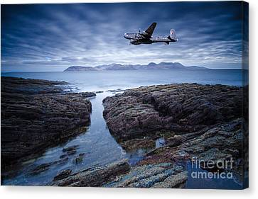 Arran Shackleton Canvas Print by Nichola Denny