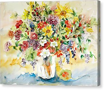 Arrangement IIi Canvas Print by Alexandra Maria Ethlyn Cheshire