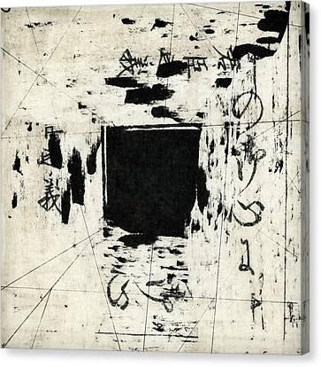 Grid Canvas Print - Arrhythmic Number One by Carol Leigh