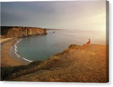 Arrifana Beach Canvas Print