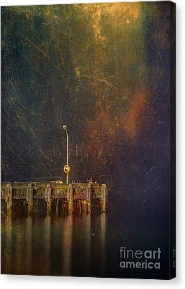 Arrival Canvas Print by Russ Brown