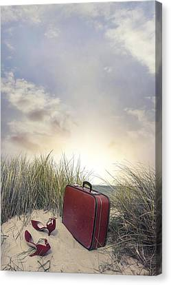 Arrived At Sunset Canvas Print by Joana Kruse