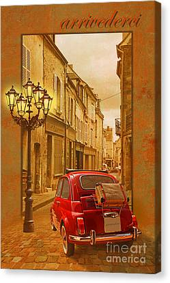 Arrivederci Canvas Print by Monika Juengling