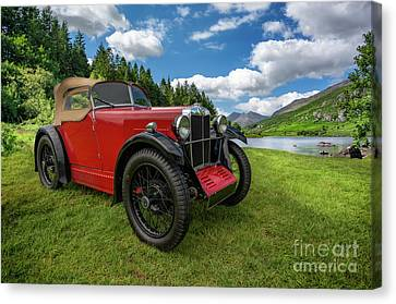 Arriving In Style Canvas Print by Adrian Evans