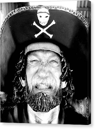 Canvas Print featuring the photograph Arrrgh by Antonia Citrino
