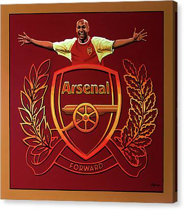 Arsenal London Painting Canvas Print