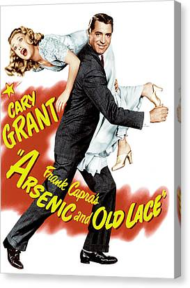 Arsenic And Old Lace, Priscilla Lane Canvas Print by Everett
