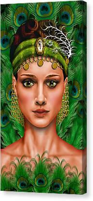 Art De L'esprit Canvas Print by Troy Brown