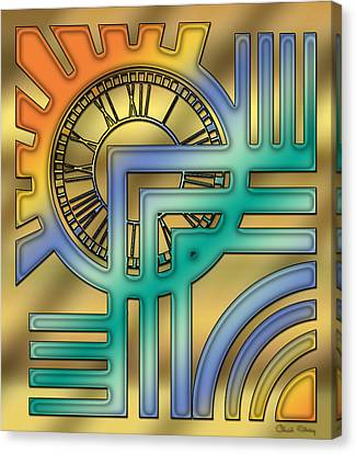 Art Deco 24 Canvas Print by Chuck Staley