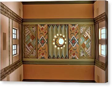 Art Deco East Anteroom Canvas Print