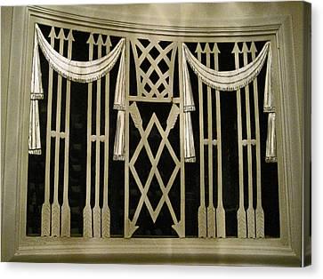 Art Deco Grate 2 Canvas Print by Michael Durst