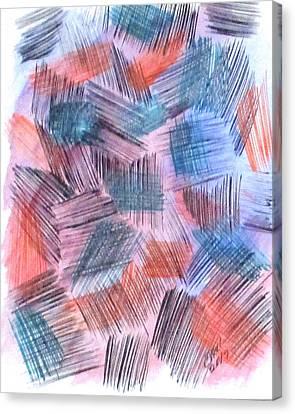Art Doodle No. 23 Canvas Print