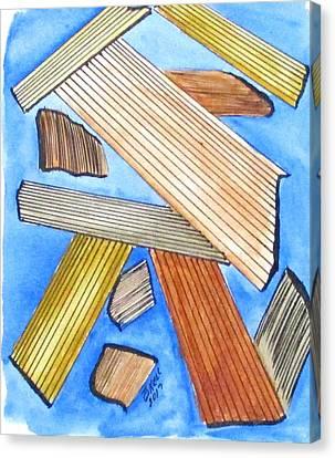 Art Doodle No. 24 Canvas Print