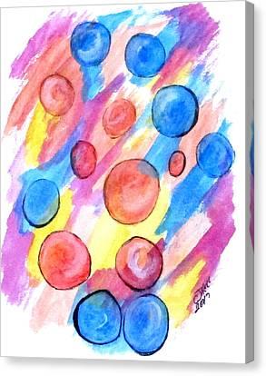 Art Doodle No. 25 Canvas Print