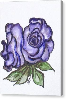 Art Doodle No. 26 Canvas Print