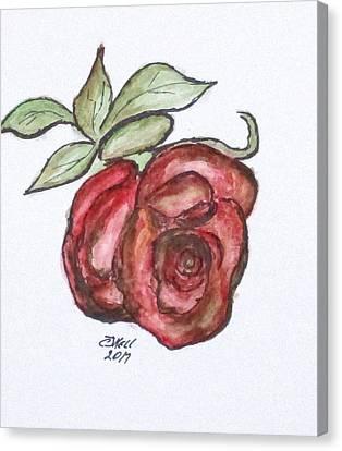 Art Doodle No. 29 Canvas Print