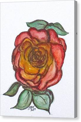 Art Doodle No. 30 Canvas Print
